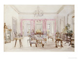 The Drawing Room of Queen's House, Barbados, circa 1880