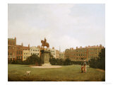 A View of Leicester Square, Circle of William James 18th/19th Century