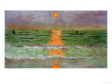 Sunset, 1913 Gicl�e-Druck