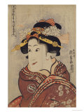 The Actor Iwai Hanshiro V as Yaoya Oshici, circa 1815