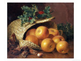 Still Life with Apples, Hazelnuts and Holly, 1898