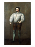 Portrait of a Gentleman Traditionally Identified as Sir Francis Drake, English School