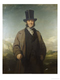 A Portrait of Robert Baird of Auchmedden, in a Grey Coat, Black Suit and a Top Hat