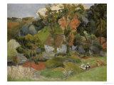 Paysage à Pont-Aven, 1888