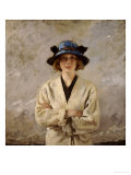 Girl in a Blue Hat, 1912