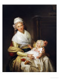 Portrait of Constantia Foster Holding Her Nephew on Her Lap