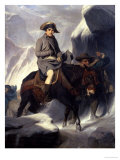 Napoleon Crossing the Alps, 1848