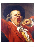 Self-Portrait as a Yawning Man, 1791