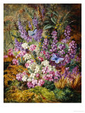 Blue Butterflies and Wildflowers, 1878