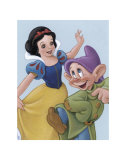 Snow White and Dopey: a Fairy Tale Celebration