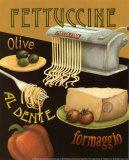 Fettuccine Art Print