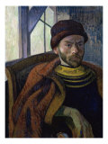Self-Portrait in Breton Costume Giclee Print