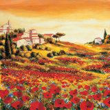 Valley of Poppies (detail)