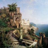 Buy In the Garden, Amalfi Coast at AllPosters.com