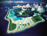 Aerial View, Bora Bora, French Polynesia