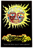 Sublime Sun Blacklight Poster