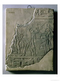Bas Relief of Priestesses Gathering Grapes, 26th-30th Dynasty