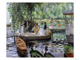 Buy La Grenouillere, 1869 at AllPosters.com