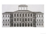 "Buy Palazzo Barberini on the Quirinale, Finished 1630, from ""Palazzi Di Roma,"" Part I, Published 1655 at AllPosters.com"
