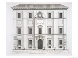 "Buy Palazzo Del Collegio De Propaganda Fide, from ""Palazzi Di Roma,"" Part II, Published 1670s at AllPosters.com"