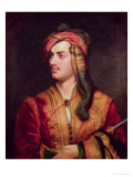 Portrait of George Gordon 6th Baron Byron of Rochdale in Albanian Dress, 1813