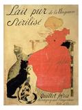 Buy Pure Sterilized Milk from La Vingeanne', 1894 (Colour Litho) at AllPosters.com