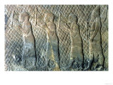Relief Depicting Musicians, Assyrian, from Nineveh, Iraq, circa 695 BC