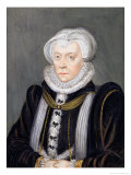 "Portrait of Margaret Douglas Countess of Lennox from ""Memoirs of the Court of Queen Elizabeth"""