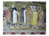 St. Dominic Sending Forth the Hounds and St. Peter Martyr Casting Down the Heretics