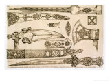 Islamic and Moorish Designs for Knife Blades, from