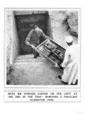 Howard Carter Removing Treasures from the Tomb of Tutankhamun