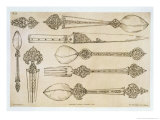 Persian Design for Everyday Silver Cutlery, from 