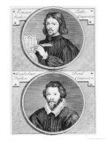 Thomas Tallis and William Byrd by G. Vander Gucht, 18th Century