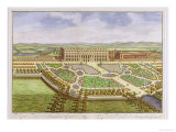 The Royal Palace of Hampton Court, from