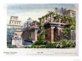 The Hanging Gardens of Babylon, from a Series of the