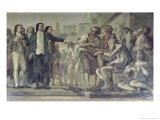 Philippe Pinel Releasing Lunatics from Their Chains at the Bicetre Asylum in Paris in 1793