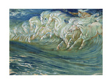 Neptune's Horses, Illustration for