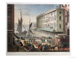 Billingsgate Market, London, Published 1st March 1808