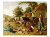 The Market Cart, 1864