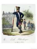 A Pupil in Military Uniform from the Ecole Polytechnique, 1803-14