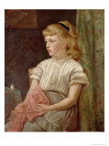 Portrait of a Girl, 1896 Giclee Print
