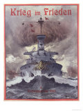 Krieg Im Frieden, Poster Celebrating the German Naval Manoeuvres of 1903