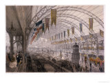 Interior View of the Palais De L'Industrie at the Exposition Universelle in 1855