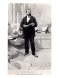 Robert Koch in His Laboratory, from