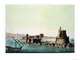 The Harbour and Mole at Algiers, Plate 69 from