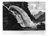 View of the Calcaccia Waterfall, 1831