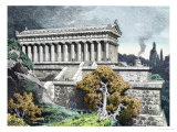 Temple of Diana at Ephesus from a Series of the