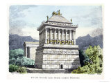 The Mausoleum of Halicarnassus, from a Series of the