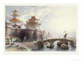 Western Gate of Peking, circa 1850