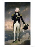 Portrait of Lord Nelson with Santa Cruz Beyond Giclee Print